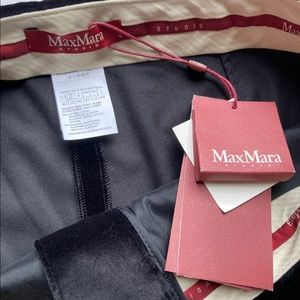MaxMara Pants & Jumpsuits - MaxMara Velvet Slim Leg Trousers